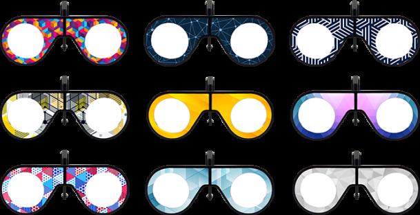 custom branded VR Glasses, VR headset, VR education