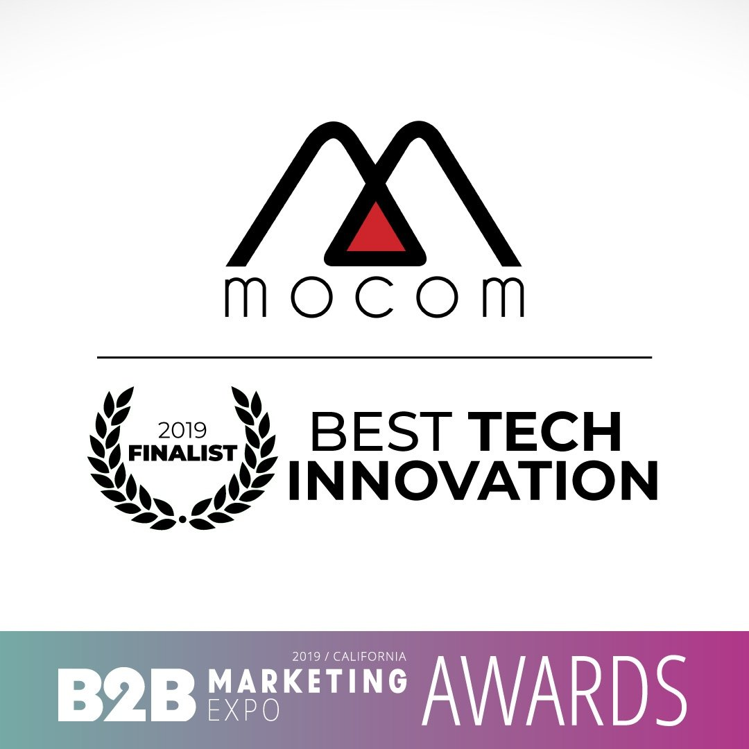B2B marketing expo 2019 - Best Tech Innovation Award Finalist
