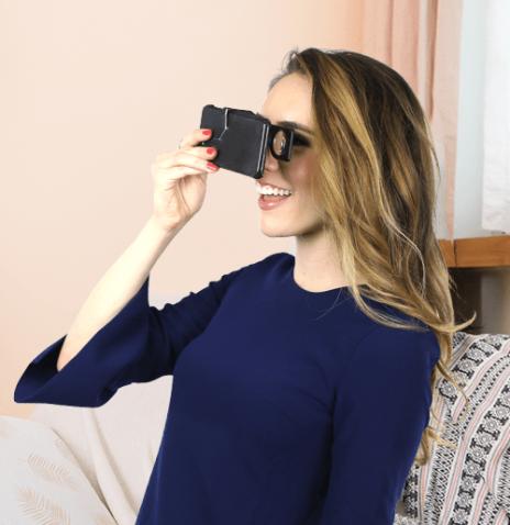 portable VR glasses POCKET VR NABI from Mocom
