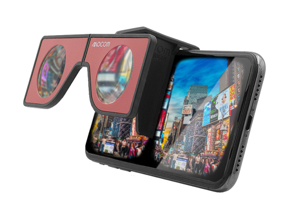 Mocom VR Products - Portable VR Glasses VR Viewer VR headset