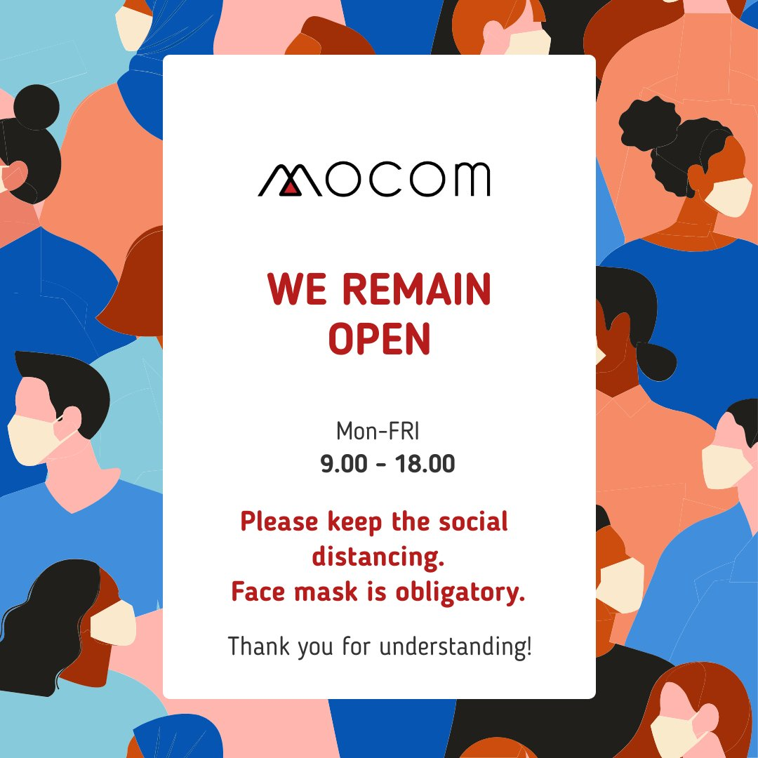 We remain open – A message about COVID-19